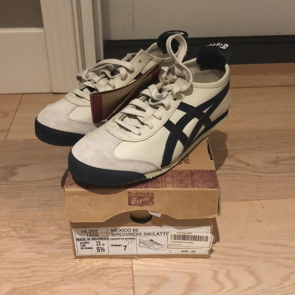 half off 33a2c 4a3fd Onitsuka tiger Mexico 66 navy blue - size 7